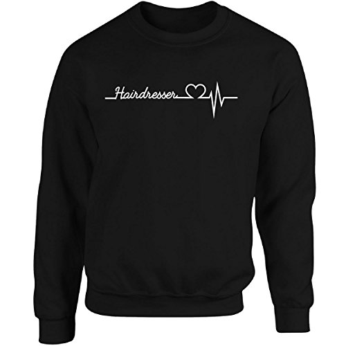 Hairdresser Heartbeat - Adult Sweatshirt hot sale