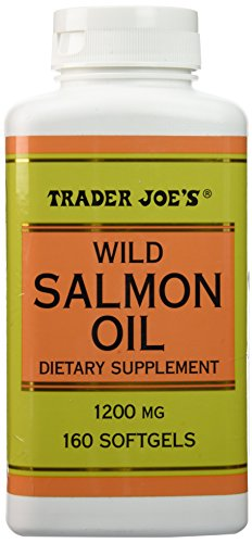 Trader Joes Salmon 1200mg Softgels