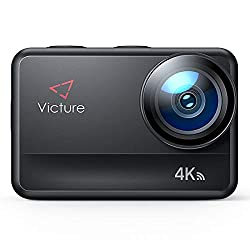 Victure AC940 5M Bare Metal wasserdichte Action Cam 4K 60FPS 20MP WiFi-Action-Kamera mit Touchscreen-Vlog-Kamera EIS…