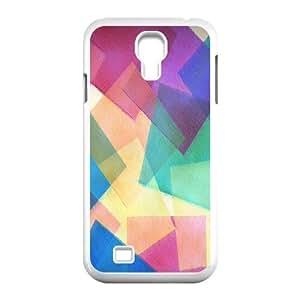 C-Y-F-CASE DIY Design Colourful World Pattern Phone Case For Samsung Galaxy S4 i9500