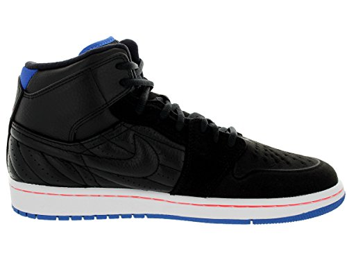 Nike Jordan Men's Air Jordan 1 Retro '99 Black/Sprt Bl/Infrrd 23/White Basketball Shoe 12 Men US