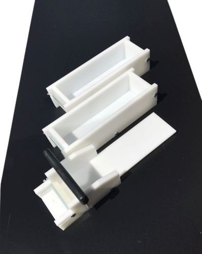 Lot of 2 HDPE Soap Loaf Making Molds and Soap Cutter 3-4 lb ea. Outlast Silicone by GameDay Display by GDD (Image #4)