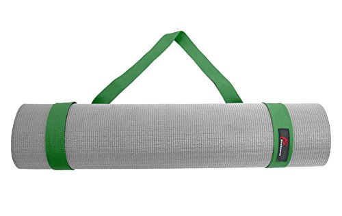 "Prosource Fit Yoga Mat Carrying Sling, Easy Adjustable Carry Strap 60"" Long Cotton (5 Colors to Choose From)"