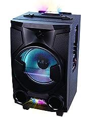 Laser Floor Speaker, Karaoke, Bt, Fm Radio, Mp3 Playback