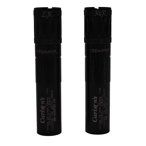 11662 Carlsons, Beretta Optima HP 12 Gauge Cremator Non-Ported Choke Tube, 2 Pack - Ported Choke