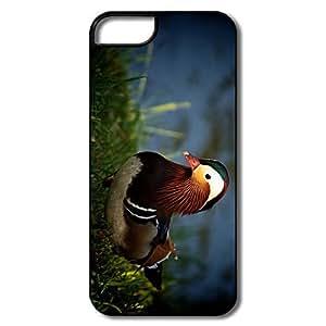 IPhone 5S Case, Mandarin Duck White/black Cases For IPhone 5 5S