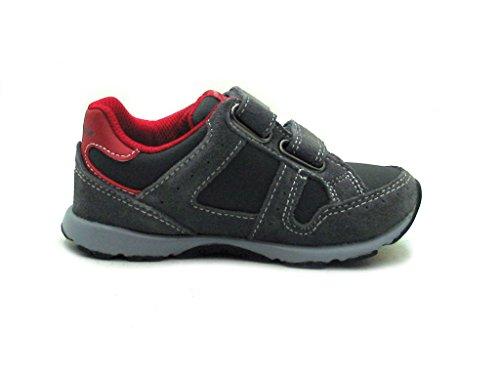 Naturino - Zapatillas de cuero para niño gris - gris