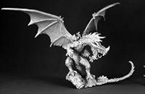 Reaper Miniatures 60028 Pathfinder Series Red Dragon Miniature by Reaper