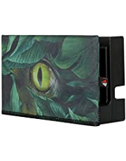 TXEsign Soft Fiber Cloth Nintendo Switch Dock Sleeve Dust Cover Compatible with Nintendo Switch Charging Dock (The Dinosaur Eye)
