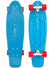 Penny 27 inch Nickel Complete Skateboard, Blue/Red