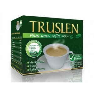 Truslen Plus Instant Coffee Green Coffee Bean Extract From Thailand.