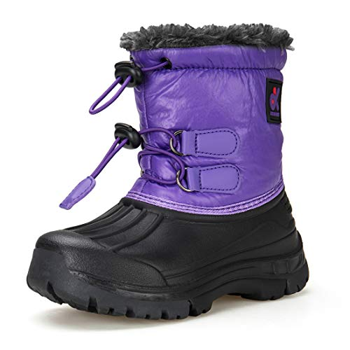 Image of Dream Kids Boys Snow Boots Outdoor Waterproof Cold Weather Winter Boots Girls(Toddler/Little Kid/Big Kid)