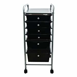 Amazon Com Advantus 6 Drawer Rolling File Organizer Cart