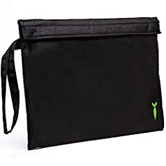 Hide all your Stash box smells in this wonderful odor locking, smell proof bag. It locks all smells tightly inside its carbon lining. So no one knows whats inside the bag. For the smoker who likes to keep a large amount of Herb stashed safely...