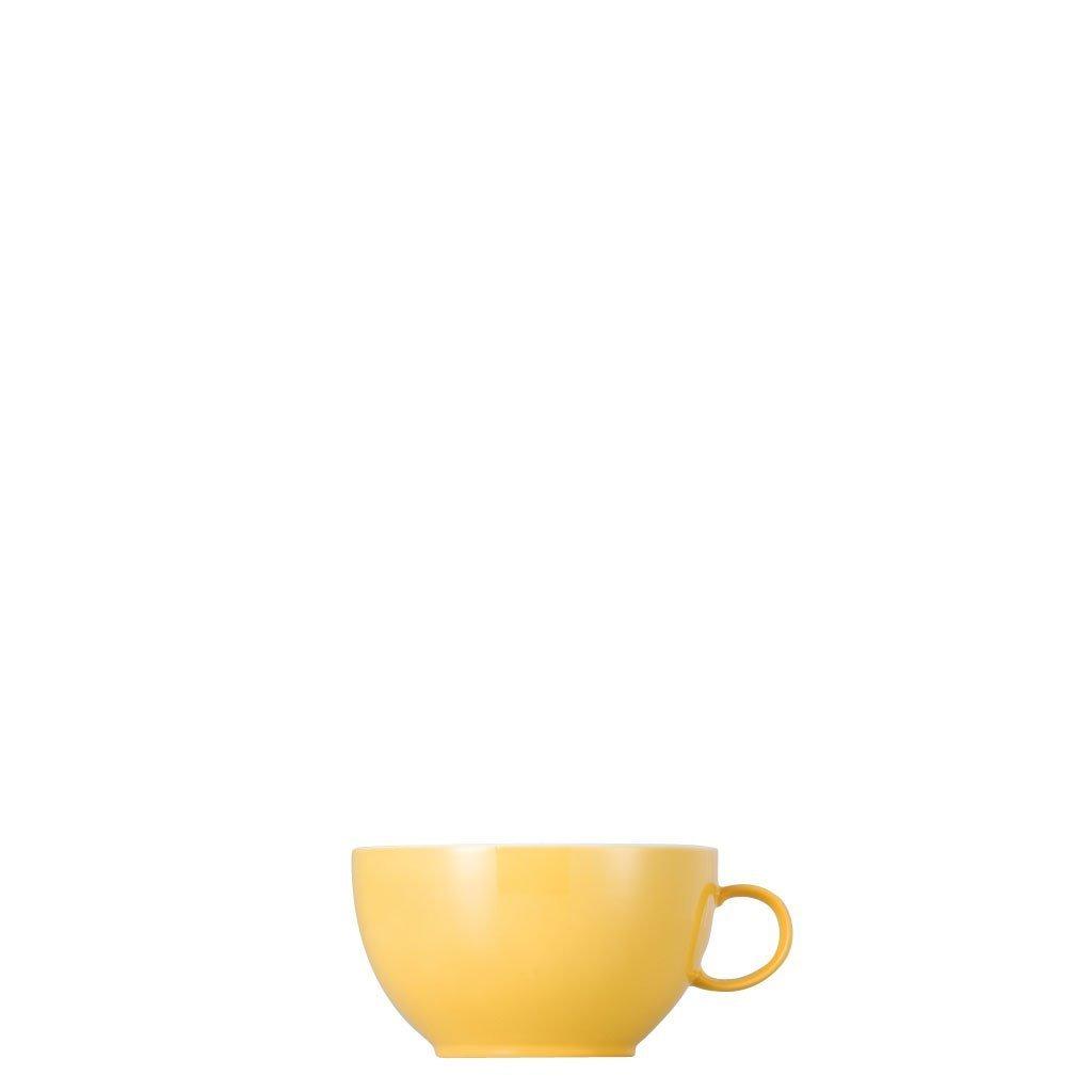 Sunny Day Yellow Cappuccino-Obertasse 0,38 L
