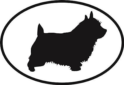 Norwich terrier vinyl stickers// car decals// window decals