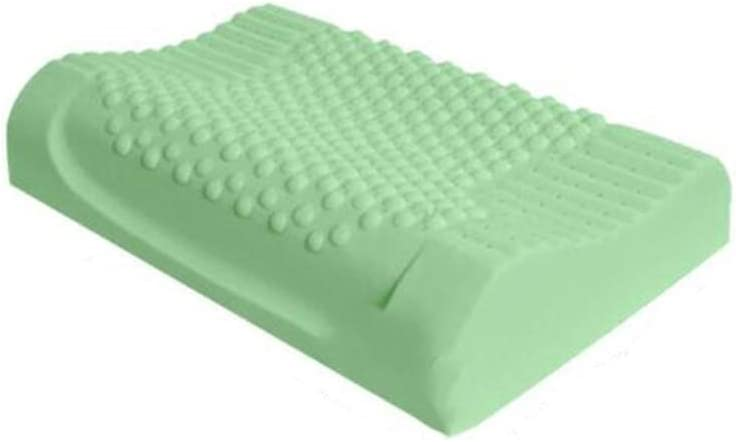 RXRENXIA Oreiller-Latex Naturel Oreiller Anti-Ronflement Hypoallerg/énique Luxe Confortable Coussin De Massage
