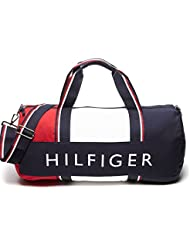 Tommy Hilfiger Patriot Duffle Bag - Navy / Red