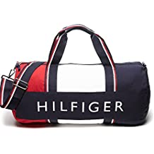 Tommy Hilfiger Big Patriot Duffle Bag - Navy / Red