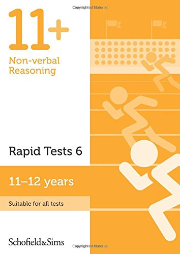 11+ Non-verbal Reasoning Rapid Tests Book 6: Year 6-7, Ages 11-12 PDF