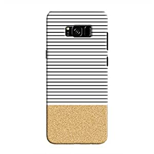Cover It Up - Lines&Sands Galaxy S8Hard Case