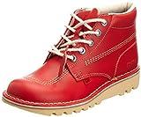 Kickers Kick Hi Mens Red Boots-UK 7 / EU 41