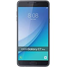 Samsung Galaxy C7 Pro C7010 64GB - Blue Navy - 2017 model - Factory Unlocked - International Version - No Warranty