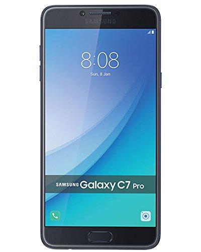 Cheap Unlocked Cell Phones Samsung Galaxy C7 Pro C7010 64GB - Blue Navy - 2017 model..
