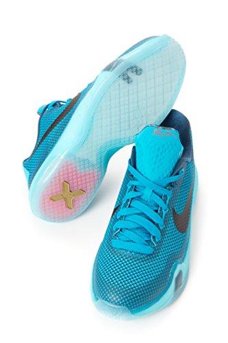 Basketballschuhe Blue Jungen GS Black Nike Lagoon X Kobe nAIOcg7