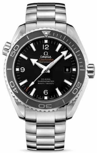 Omega Seamaster Planet Ocean 600 Meters Co-Axial Black Dial Men's Watch (Model:232.30.46.21.01.001)