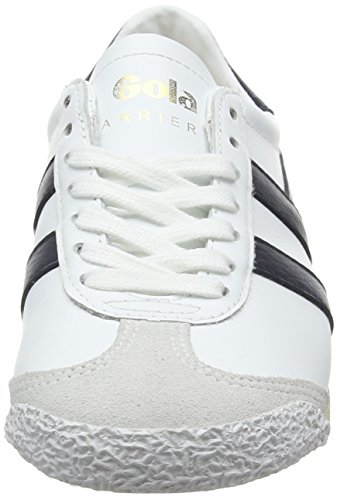 White Navy Femme Leather 50 Baskets Harrier Gola qwYItI