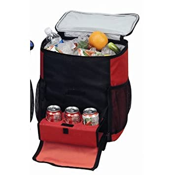 Amazon.com : Rolling Shuttle Cooler Color: Red : Rolling Backpack ...