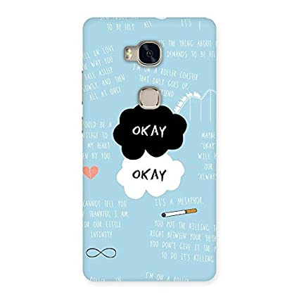 Roller Coaster Love Back Case Cover for Huawei Honor 5X