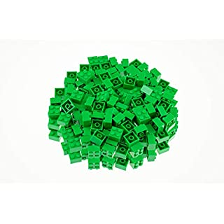 Strictly Briks Classic Bricks 144 Piece 2x2 Green Building Brick Creative Play Set - 100% Compatible with All Major Brick Brands