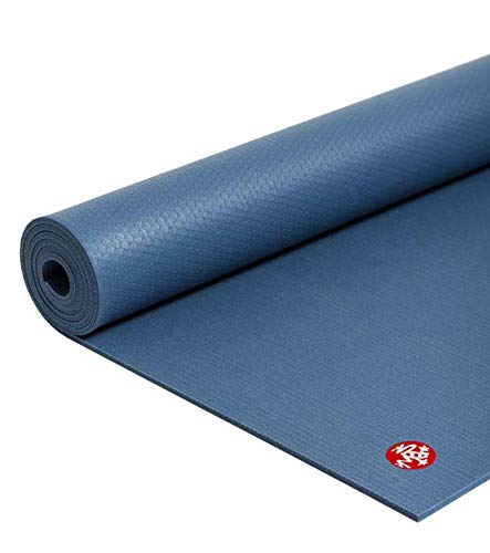 Manduka PRO Yoga Mat - Premium 6mm Thick Mat, Eco Friendly, Oeko-Tex Certified and Free of ALL Chemicals. High Performance Grip, Ultra Dense Cushioning for Support and Stability in Yoga, Pilates, Gym and Any General Fitness.