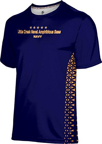 ProSphere Men's Little Creek Naval Amphibious Base Military Geometric Shirt (Amphibious Base)