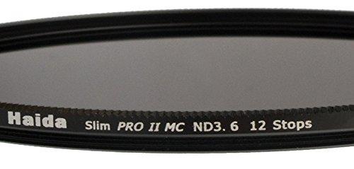 Haida Filtro ND Slim Pro II MC Digital Extrem ND3.6 (4000x ) - 77mm, Cap incluso