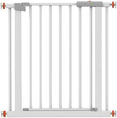HN-Baby Gate Punch Gratuito Caja Puertas del Bebé For Escaleras Extra Ancho Valla Valla Valla Mascotas Dual Lock Cierre Automático (Color : High78CM, Size : 201-208cm): Amazon.es: Hogar