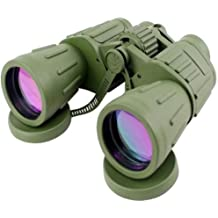 60x50 Powerful Wide Angle Green Camo Binoculars Day&Night Optics Military Army