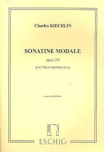 Sonatine Modale Opus 155 Flûte Traversiere
