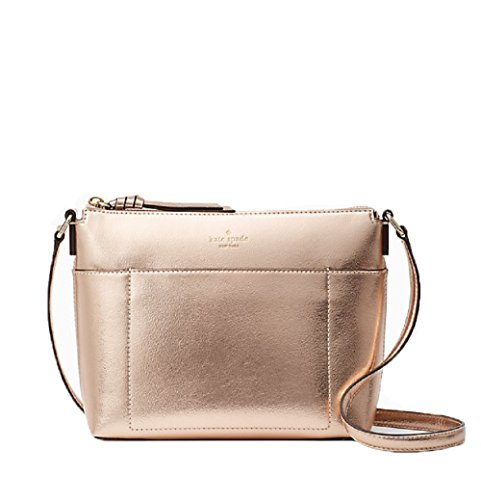 Kate Spade Holiday Lane Evie Shoulder bag (Rose Gold) by Kate Spade New York