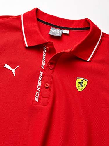 Motorsport Mens Ferrari Logo Polo