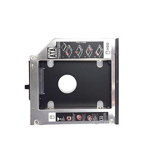 HDD/SATA 2nd Aluminum Hard Disk Drive Caddy Case Adapter 12.
