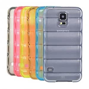 Colorful Bullet Proof Vest Soft TPU Case For Samsung Galaxy S5 i9600