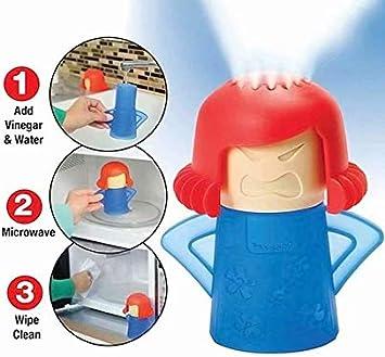 Limpiador de microondas Mama Enfadada Limpiador a Vapor: Amazon.es ...