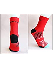 RoadRomao Calcetines de Ciclismo Profesionales Humedad Transpirable Wicking Sports Running Calcetines