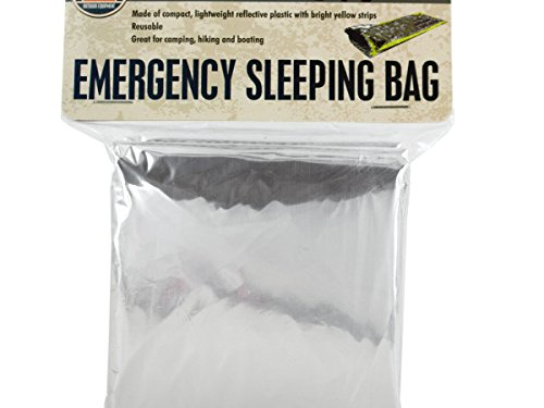 Emergency Sleeping Bag – パックof 16 B06ZY2JTD2