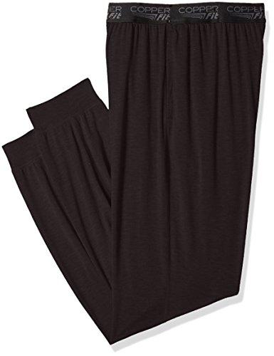 Sleep Spandex Pant (Copper Fit Men's Sleep Pant, Onyx, XL)
