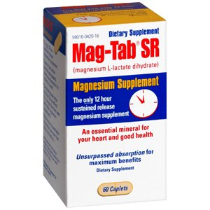 MAG-TAB SR CAPLET 100CP NICHE PHARMACEUTICALS