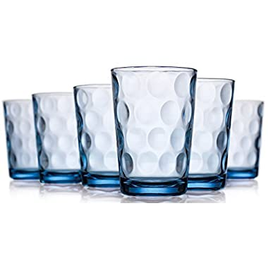 Home Essentials Eclipse Blue 7oz Juice Glass Set of 6